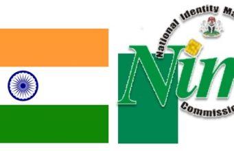 NIMC Nigeria India flags