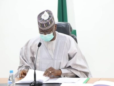 Secretary to the Government of the Federation, Mr. Boss Mustapha