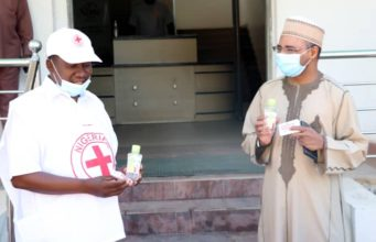 Nigerian Red Cross PPE donation to NIMC 2