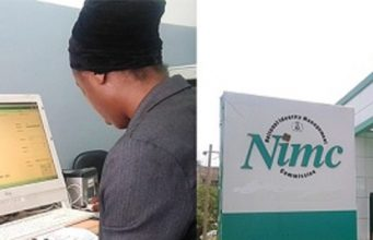 Enrolment at NIMC