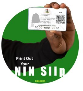 Print Out Your Improved NIN Slip