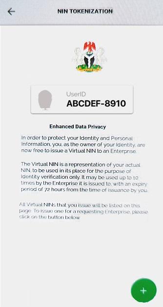 Tokenization Enhanced Data Privacy information